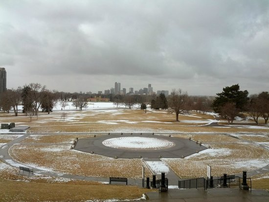 Denver Museum of Nature & Science: View of City Park and Downtown Denver From the Museum
