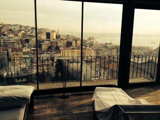 4Floors Istanbul: PANORAMA DAL 4FLOOR