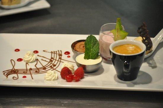 Le Bistrot d'Aurelie : café gourmand