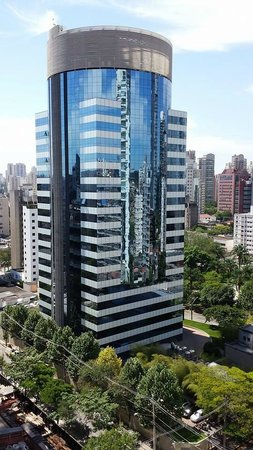 Adagio Sao Paulo Berrini: View from my room (15th floor balcony)