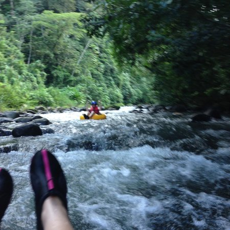 The Springs Resort and Spa : Tubing Down Rio Arenal in Club Rio
