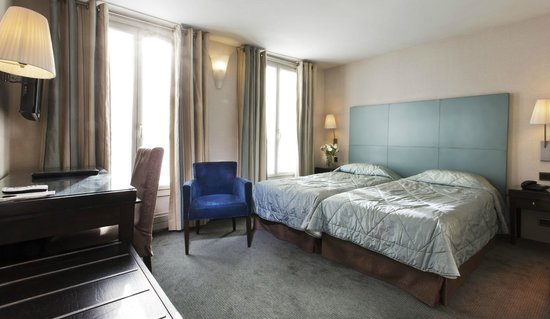 Passy Eiffel Hotel : guest room