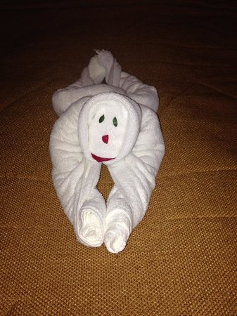 The Springs Resort and Spa : Fun Towel Art