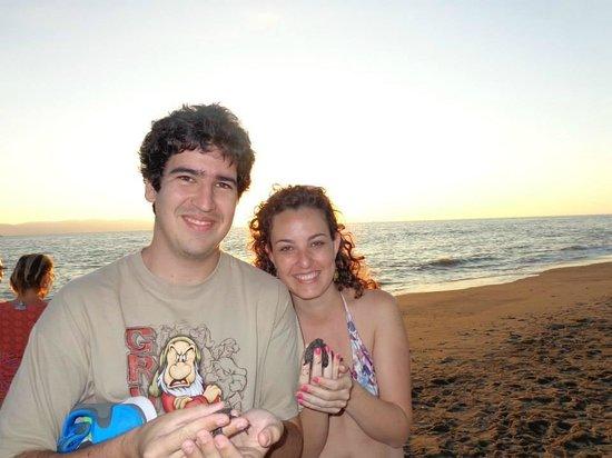 Casa Magna Marriott Puerto Vallarta Resort & Spa: Liberando tortuguitas en Casamagna, lo máximo