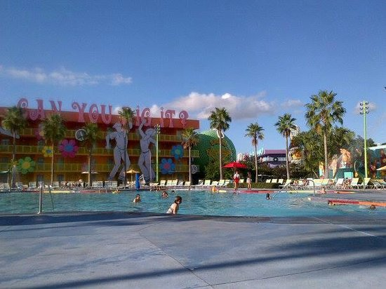 Disney's Pop Century Resort: Main Pool