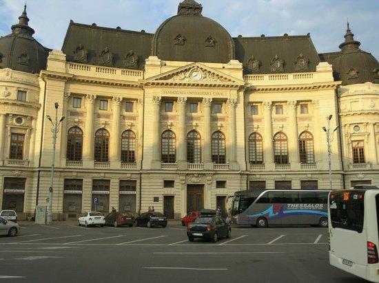 Victoriei Street: Национальная библиотека
