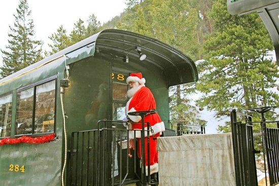 Georgetown Loop Historic Railroad: Santa