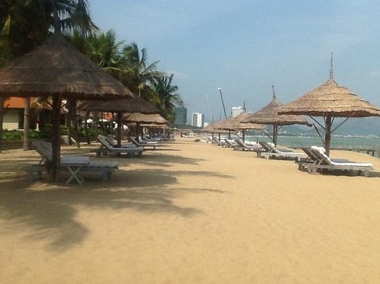 Evason Ana Mandara Nha Trang: the beach area - private and beautiful