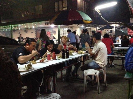 Matias: Dining al fresco