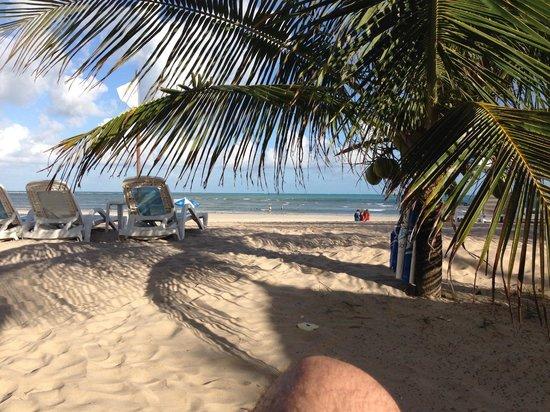 Salinas Maragogi All Inclusive Resort: Vista do bar da praia