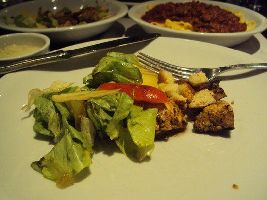 Restaurante El Mirador - Hotel Mendoza: Salada Caesar... ótima entrada!