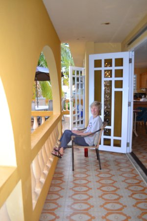 At the Waves: Second Floor Porch