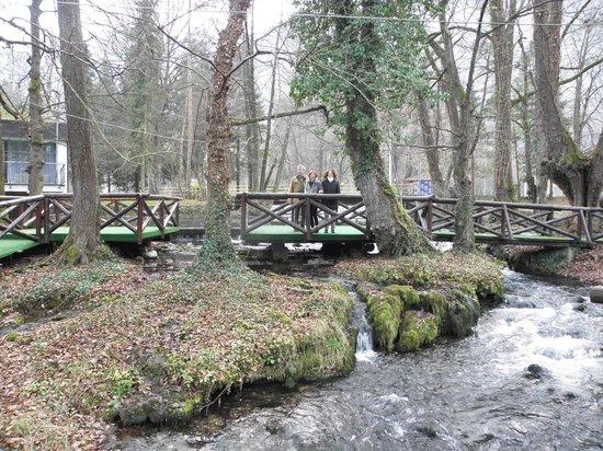 Hotel Jezero: Vrelo waterfalls