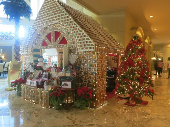 the peninsula manila one of their christmas house decors