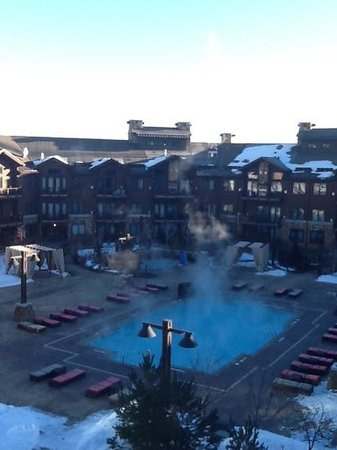 Waldorf Astoria Park City: view from my window