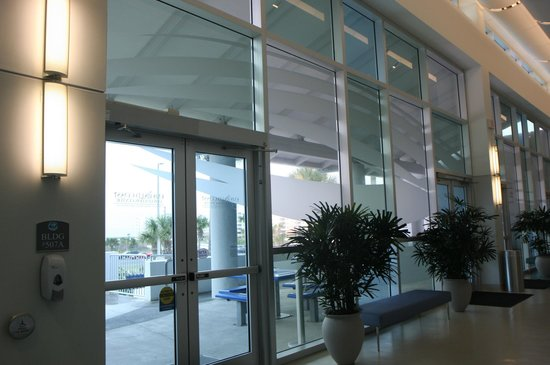 Emerald Coast Convention Center: The ECCC is bright, comfortable and easy to navigate.