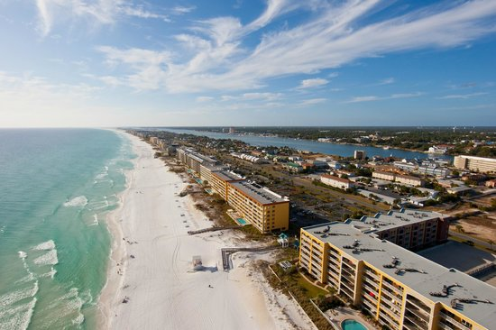 Emerald Coast Convention Center: This aerial reveals the beauty of the Emerald Coast.