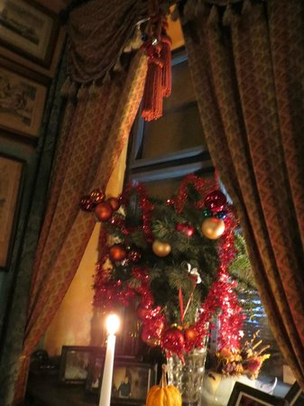 Restaurant U Modre Kachnicky : Very cozy in december