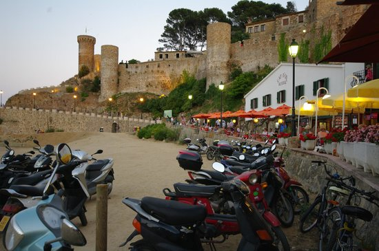 Tossa Center Hotel: Старая крепость