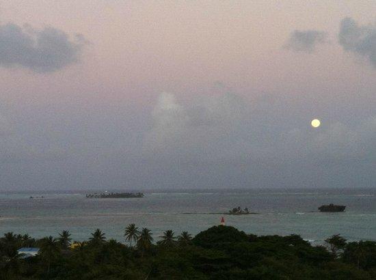 Sol Caribe Campo: Vista desde el Hotel