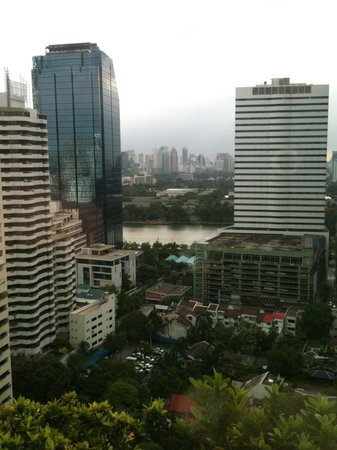 Rembrandt Hotel Bangkok : View of the river from the room