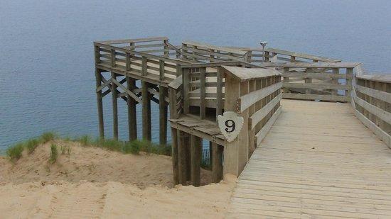 Sleeping Bear Dunes National Lakeshore: Lookout point