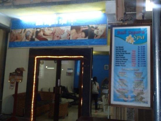 Bali Segara Spa : well priced and great staff