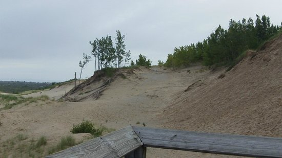 Sleeping Bear Dunes National Lakeshore: Strenuous hike over the dunes