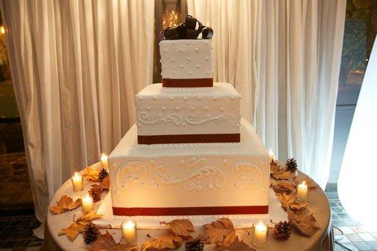 Casina di Macchia Madama: Torta Nuziale - Tema Autunnale
