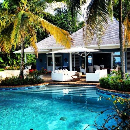 Sandals Royal Plantation: Our gorgeous villa pool