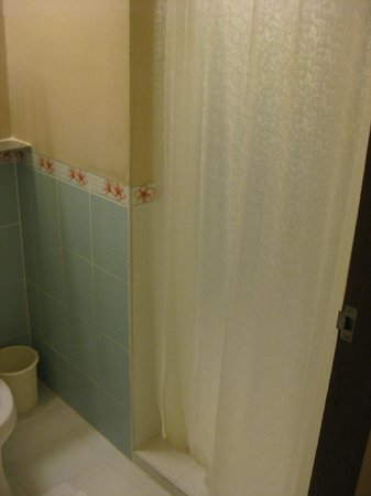 Sino House Phuket Hotel and Apartment : Shower stall