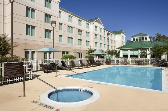 Hilton Garden Inn Houston/The Woodlands: Outdoor Pool & Whirlpool