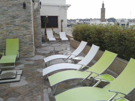 Belere Rabat : La terrasse