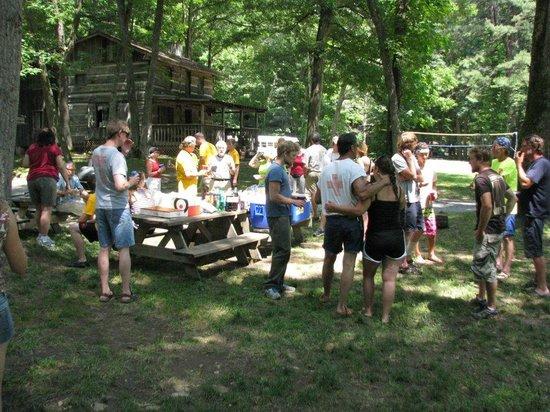USA Raft: Post trip social