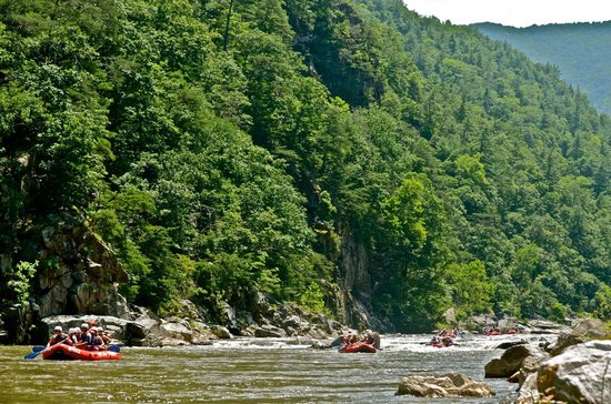 USA Raft: The Gorge
