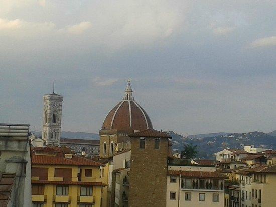 Pitti Palace al Ponte Vecchio: panorama dalla terrazza del ristorante