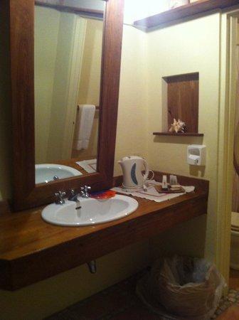 Harmony Hall Antigua: stanza 4: il bagno