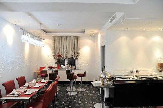 Hotel Ares Paris: La salle du petit déjeuner