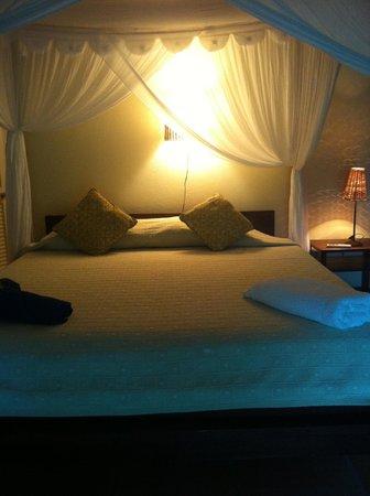 Harmony Hall Antigua: stanza 4: il letto