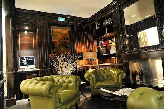 Hotel Ares Paris: Le lobby
