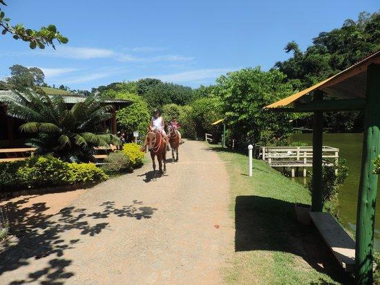 Conservatoria, RJ: Passeio a cavalo na Fazenda Vilarejo