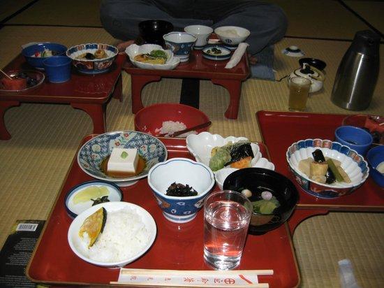 Ekoin Temple, Koyasan : dinner