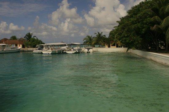 Kurumba Maldives: маленький порт