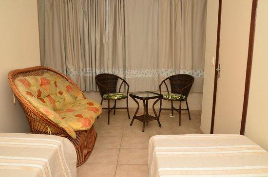 Hotel Balneario Cabo Frio: Categoria Dois Ambientes (2º ambiente)