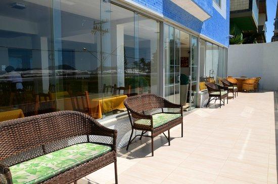 Hotel Balneario Cabo Frio: Varanda