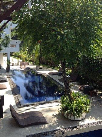 Surintra: Hotel pool