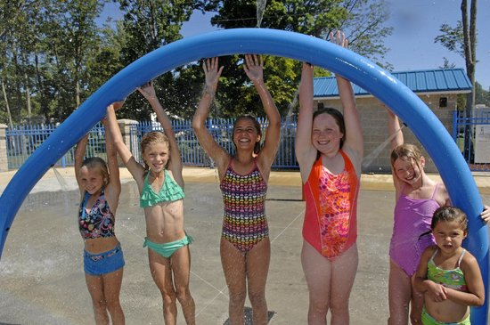 Quinte's Isle Campark : More fun in Splash Park!