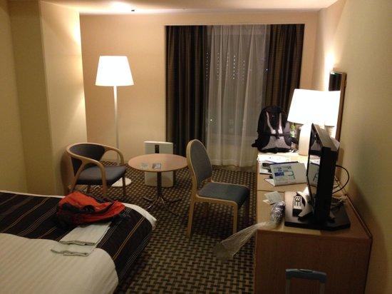 Tennoji Miyako Hotel: Fairly large room