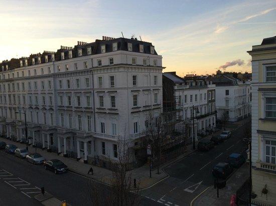 Huttons Hotel: vista dalla camera