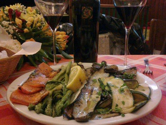 La Campagnola: Antipasti di verdure freschissime